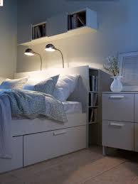 chambre brimnes brimnes bed frame with storage headboard white luröy ikea