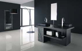 black mid century bathroom vanity u2014 derektime design organize
