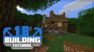 minecraft turorial 1 8 building tutorial forest house youtube