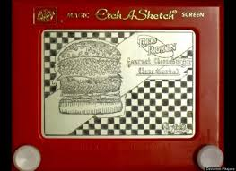 etch a sketch art amazing illustrations made with classic