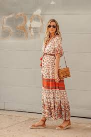 Dash Of Darling Fall Floral Spell Designs Maxi Dress