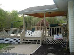 covered back porch ideas thraam com