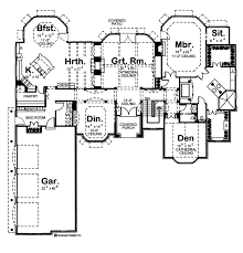 1 story french country house plan brendel