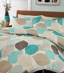 beautiful light blue and brown bedding elegant bedroom ideas