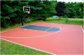backyards trendy basketball backyard court diy backyard