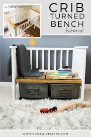 How To Convert A Crib To A Bed by Top 25 Best Repurposing Crib Ideas On Pinterest Reuse Cribs