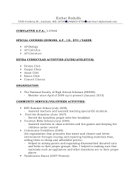 Formats For Resumes Resume Format For Recommendations