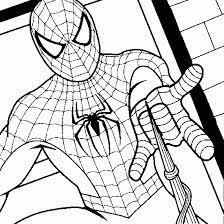 coloriage spiderman facile les beaux dessins de meilleurs