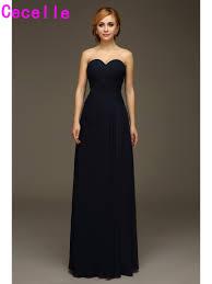 online get cheap dark navy blue bridesmaid dresses aliexpress com