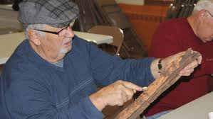 craving for carving newport wood carvers whittle away the hours