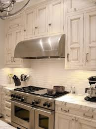 kitchen backsplash tile chrome metal single handle faucet metal