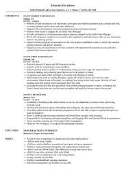 resume tips and exles paint technician resume sles velvet