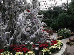 botanical conservatory snow days
