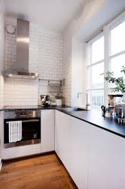 apartment kitchen cabinet design for small apartment with white