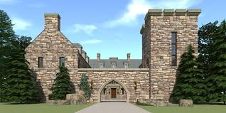 mini stone castle house plans homes zone