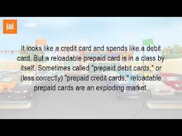 reloadable credit card what is a reloadable credit card