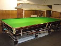 full size snooker table tennants auctioneers full size snooker table by thomas mawson
