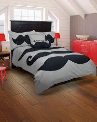 amazon com rizzy home le moustache 2 piece comforter set twin