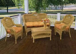 beautiful wicker patio furniture sets u2014 all home design ideas