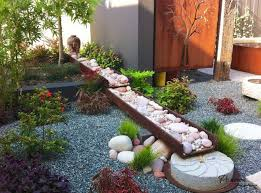 Pebbles And Rocks Garden Garden Design Ideas With Pebbles