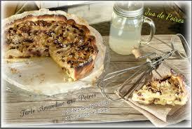 la cuisine d amandine ღ miam tarte amandine aux poires pépites choco et amandes