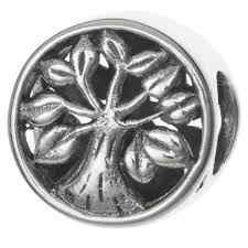 queenberry antique sterling silver tree of go bead