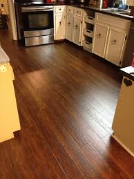 Laminate Flooring In Laundry Room Warm Springs Chestnut Laminate Brings Life To The Kitchen