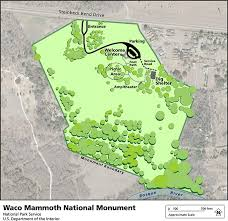 map waco maps waco mammoth national monument u s national park service