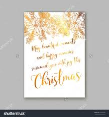 Happy New Year Invitation Floral Merry Christmas Invitation With Winter Christmas Wreath