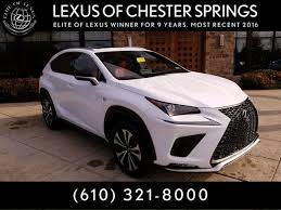 new 2018 lexus nx 300 f sport for sale chester springs pa