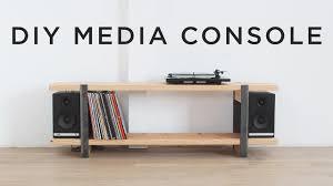 Desk Hammock Diy by Diy Media Console Youtube