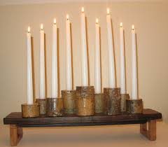 tree branch candle holder think likely tree branch candle holder centerpiece
