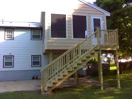 home design second story covered deck ideas asian medium second