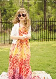the boho maxi dress tutorial and pattern scattered thoughts of a