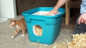 The Proper Way To Make A Bed How To Make A Feral Cat Shelter Youtube