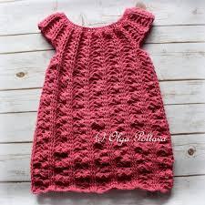 dress pattern 5 year old crochet girls dress pattern size 5 6 years old easy crochet