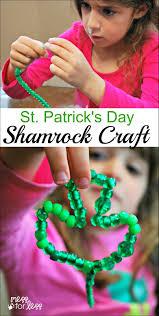 st patrick u0027s day shamrock craft mess for less