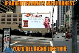 Meme Advertising - i m not saying a bag of chips these days is mostly air wait