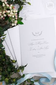 Church Programs For Wedding Lava Stationery Photo Gallery Easy Weddings