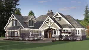 Corner Lot House Plans Plan 14650rk Elegant Craftsman With Room To Grow Craftsman