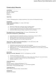 computer skills on resume examples cover letter construction worker resume examples and samples cover letter resume examples annamua professional construction worker resume for example ofconstruction worker resume examples and