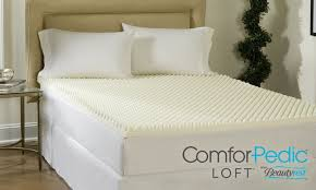 Foam Bed Topper 76 Off On Comforpedic 4
