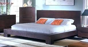Low Profile Bed Frame King Low Profile Platform Bed Soundbubble Club