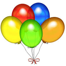 bunch of balloons colorful 5 balloons bunch add on product for delivery in