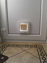 putting cat flap in glass door midlands cat flap fitter p1 give your cat freedom