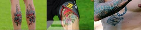 daniel agger and his tattoos fans corner