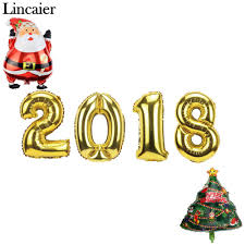 lincaier 16 32 inch 34 62cm 2018 happy new year gold