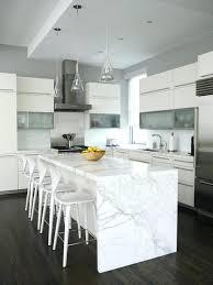 marble kitchen island carrara marble kitchen loft contemporary kitchen white carrara