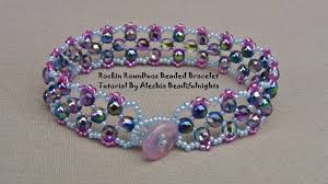 youtube beads bracelet images Rockin rounduo beaded bracelet tutorial jpg