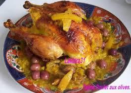 recette de cuisine marocaine en cuisine marocaine poulet au four paperblog